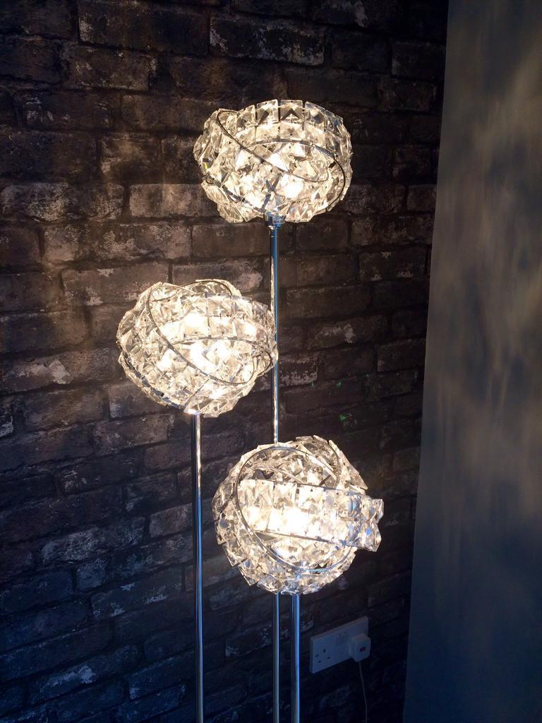 Next Venetian 3 Light Floor Lamp Current Range In