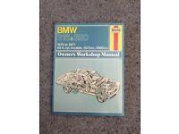Haynes Manual - BMW 316 & 320 1975-1977 (Hard back, 1978)