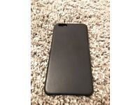 Official Apple iPhone 6 Plus Leather Case Midnight Blue
