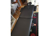 Massage bed and chair