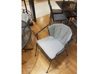 John Lewis Henley by Kettler 4 seater table and chairs