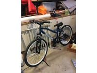 Lady mountain bike used once
