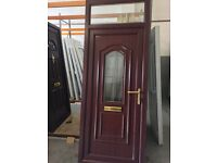 Refurb upvc door