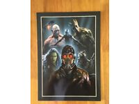 3 marvel/dc/guardians of the galaxy posters