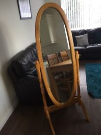 Pine Bedroom Mirror
