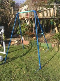 Free swing frame scrap only
