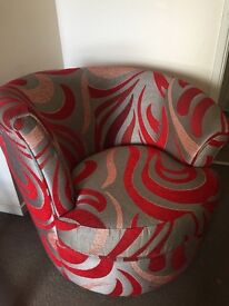URGENT NEEDS TO GO !!beautiful sofa spin armchair