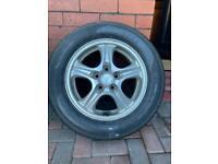 Mitsubishi Wheel Brand new Tyre