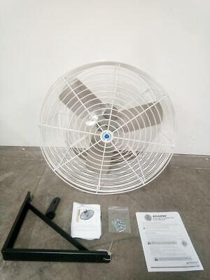 Schaefer Gvk24-3 12 Hp 1725 Rpm 7750 Cfm 230460vac 24 In Blade Industrial Fan