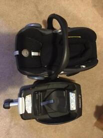 Maxi Casi Car Seat And Easy Fix Isofix Base