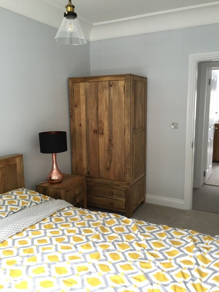 Fabulous 2 Door Cupboard Solid Wood Good Condition Collection Only Nw3 In Camden London Gumtree Home Interior And Landscaping Palasignezvosmurscom