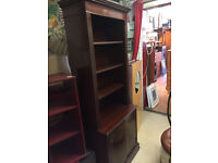 Regency Style Reproduction Bookcase , solid unit