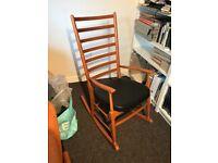 Vintage retro 1960s Remploy Rocking Chair