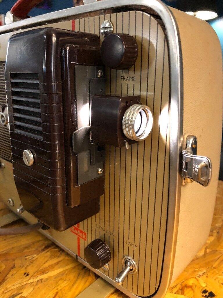 Vintage Kodak Brownie Eight-58 8mm film projector working | in Glasgow City  Centre, Glasgow | Gumtree