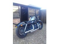 Immaculate Harley Davidson 48. Year 2013. Only 2886 miles. Price £7995