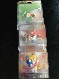 3 Mario and Rabbids Kingdom Battle figures