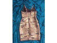 Size 8 to 10, 3 Bandage dresses, 1 jump suite , 1 Karen millen dress , 1 promod skirt