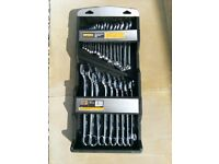 Halfords Combinaton Spanner Set 25 spanners
