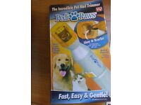 NEW - Pedi paws for cats and dogs