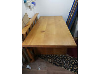 Solid Wood Dining Table - £200 ONO