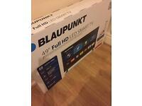 "Brand new boxed 49"" led smart tv blaupunkt"