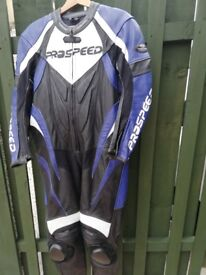 Motorcycle leather one piece
