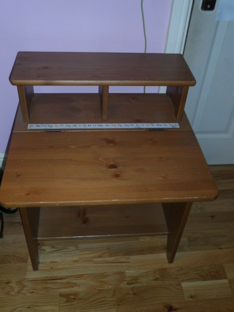 Wondrous Ikea Pine Desk And Chair In Ilford London Gumtree Andrewgaddart Wooden Chair Designs For Living Room Andrewgaddartcom