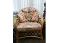 Conservatory Sofa and Chair, very good condition