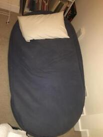 Large navy bean bag
