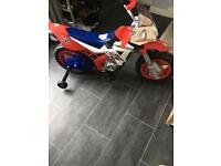Kids battery operated motorbike 6V