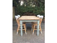 *Dining table & 4 chairs for sale*
