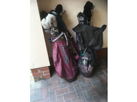 Vintage Golf Clubs two sets