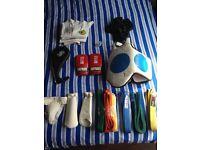 Teakwondo sparing equipment