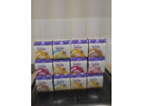 60 Fortisip Compact various flavours unopened high RRP £170 4x15