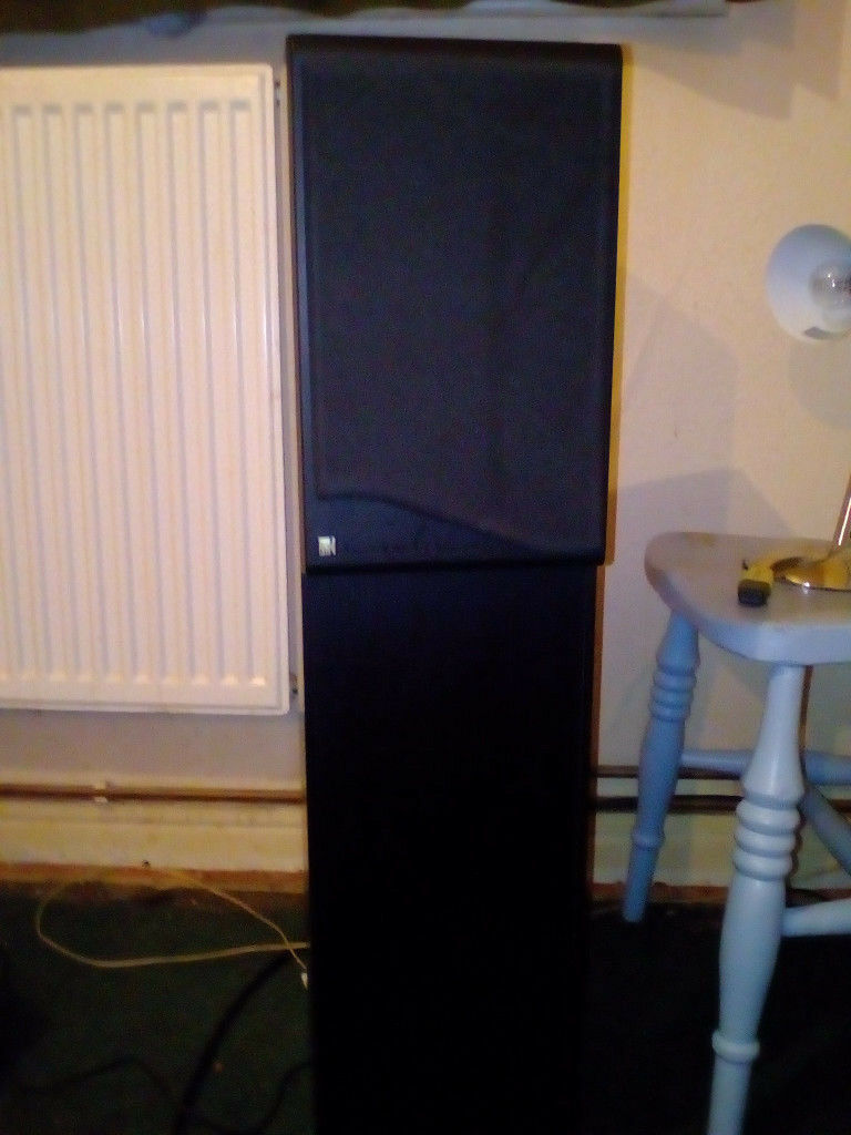 Kef Coda 9 Floor standing speakers, 125 watts rms handling power