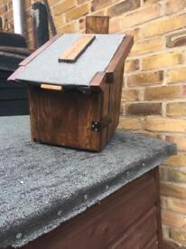 Hand made external post box