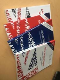 Official Life in th U.K. test - 4 books