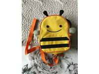 Toddler bee bag and lunch box