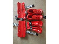 Sparring Gear - Red Large