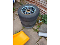 wheel Rims and trims for trailer