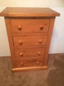 Chunky pine drawers