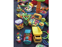 Bundle of baby toys+travel coat+car