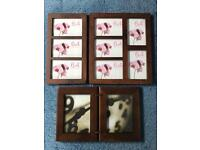 Picture Frames bundle 2 x Boots & Sheffield Home Dark Wood