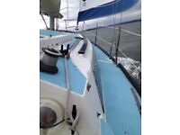 Mirage 28 Fin Keel Sailing Boat