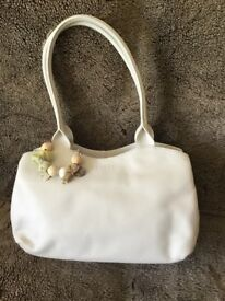 Radley cream handbag - new without tags