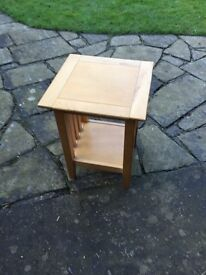 Marks and Spencer Light wood side table