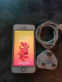 Unlocked I phone 5s 64gb in gold