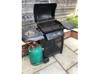 BBQ with Gas bottle and Cover