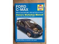 Haynes manual for Ford Focus C-MAX