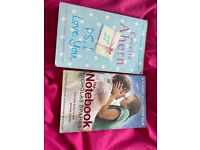 Variety of adult reading books